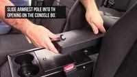How to install the Gamber-Johnson Standard Heavy Duty Armrest