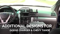 Preview the Close-To-Dash mount for the Ford Police Interceptor Utility