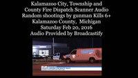 Dispatch audio: Gunman's rampage