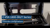 2020-2021 Ford Interceptor VSX Console: Front Bin Configurations