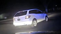 Dash cam captures pursuit and shootout during ride along