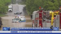 Operator who drove ambulance through Raleigh flood waters to be disciplined