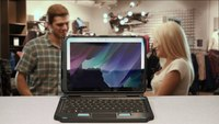 2-in-1 Attachable Keyboard for the Samsung Galaxy Tab Active Pro Tablet