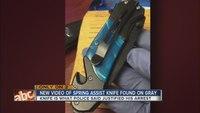 New video of knife in Freddie Gray case