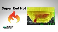 Super Red Hot: Colorize objects according to temperature ⎜Thermal Imaging for Fire Service