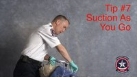 Safer VL intubation: Suction as you insert blade