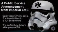 Star Wars CPR Flash Mob 2016
