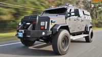 IAG Armored Suburban at AUSA 2015