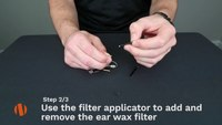 N-ear 360 How To Change The Ear Wax Filter