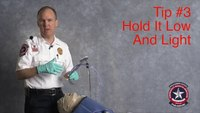 Safer VL intubation: Hold video laryngoscope low and light
