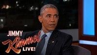 Obama reflects on Ferguson in 'Kimmel' appearance