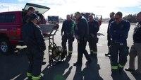 Fire Department Demos Super Vac's New Battery Fan