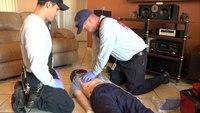 Pit crew cardiac arrest resuscitation training