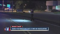 Shots fired at IMPD Northwest District Headquarters