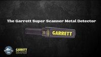 Garrett Super Scanner Metal Detector