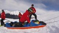 Ski patrol demonstrates high-performance CPR