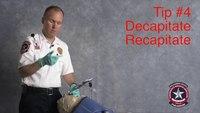 Safer VL intubation: Recapitate the device after blade insertion
