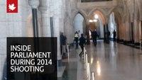 Video: Reporter captures exchange of gunfire in Canada Parliament building