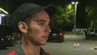 Quick-thinking McDonald's employee helps save cop