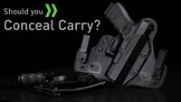 IWB vs OWB Holsters - Concealed Carry vs Open Carry