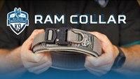 RAM Collar - Leather and Nylon Agitation Dog Collar