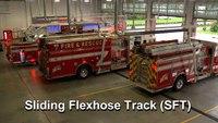 La Grange Fire & Rescue Chooses Sliding Flexhose Track System by MagneGrip