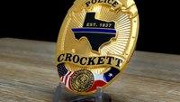 Crockett, TX Police - BadgeStudio Custom Badge