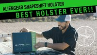 HANDS DOWN THE BEST HOLSTER I'VE EVER USED | Alien Gear Shape Shift Holster Review