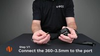 N-ear 360 How To Connect To A Speaker Mic.