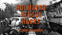 Holmatro Rescue Hacks: Smart door removal