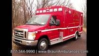 Elk River Fire & Ambulance on Braun Ambulance