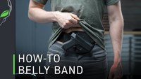 How To Wear The Low-Pro Belly Band Holster by Alien Gear Holsters
