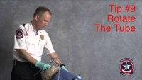Safer VL intubation: Rotate the endotracheal tube
