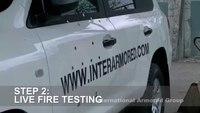 IAG Toyota Landcruiser VR7 Live Fire Testing