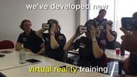 Virtual reality training to prepare paramedics for violent patient encounters