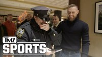 NYPD cop loses mind meeting Conor McGregor