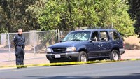 Aftermath of Calif. bank robbery, pursuit