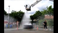 Firefighters in Germany embrace their inner child for challenge