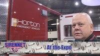 Sirennet shows off new Horton model 623 ambulance