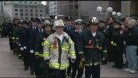 Boston honors two fallen firefighters