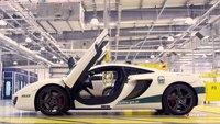 Dubai's super fleet: World's fastest police car