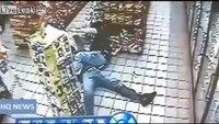Man held at gunpoint takes down robber