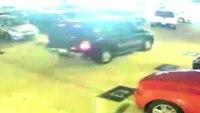 Car thief rams cop car then escapes