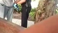 Fla. cop investigated after confrontation with homeless man