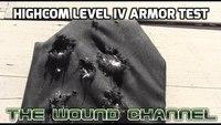 HighCom Security Level IV Armor Test