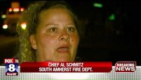 Suspect arrested after taking 2 Ohio firefighters hostage
