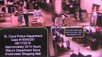 St. Cloud mall stabbing surveillance footage