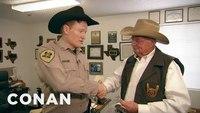 Conan becomes a Texas deputy