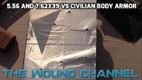 Civilian Body Armor vs AR15 and AK47