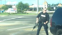 Baton Rouge ambush captured by bystander